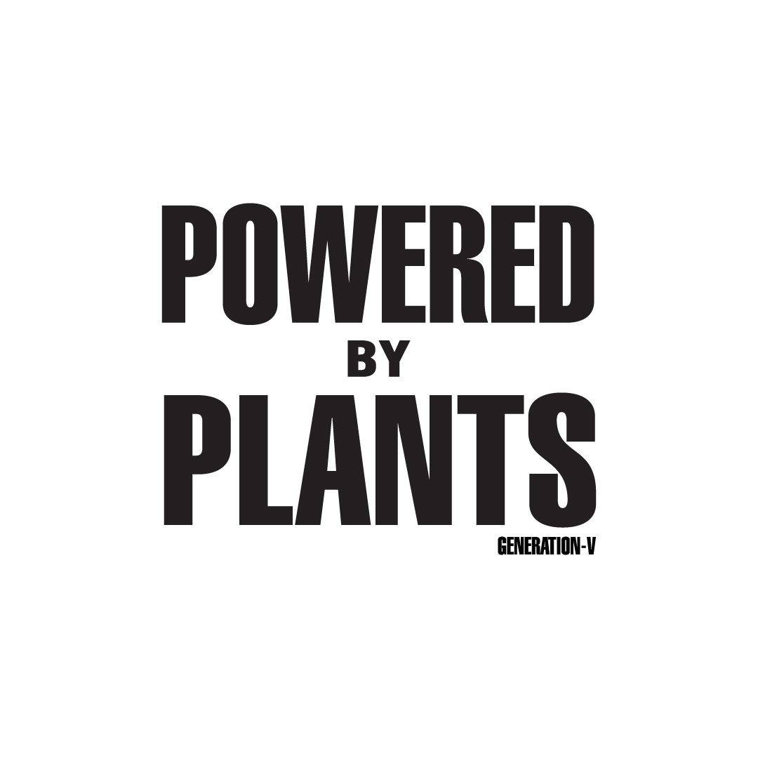 Generation-V Powered By Plants A4 Vegan Poster 1080x1080