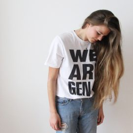 Generation-V WeAreGen-V White Tee Shynne