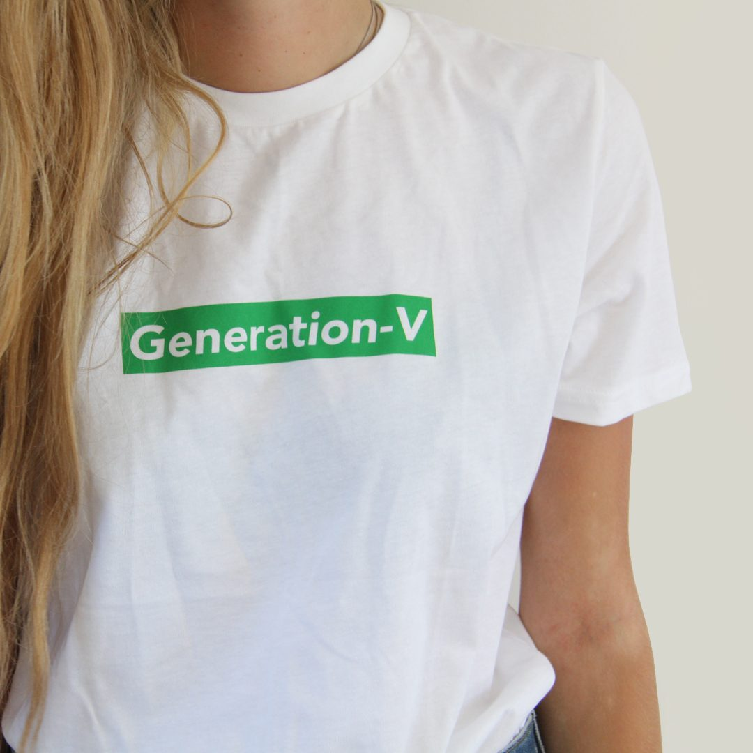 Generation-V Green Box Logo Tee Shynne4