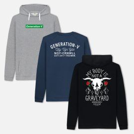 Generation-V Vegan Hoodies & Sweatshirts