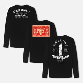 Generation-V Vegan Long Sleeve Tshirts