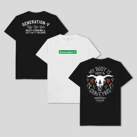 Generation-V Vegan kids tshirts